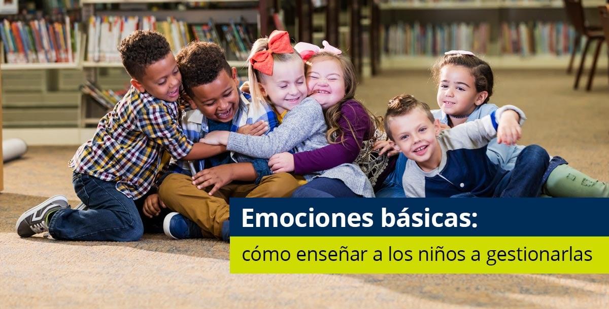 niños aprendiendo sobre las emociones