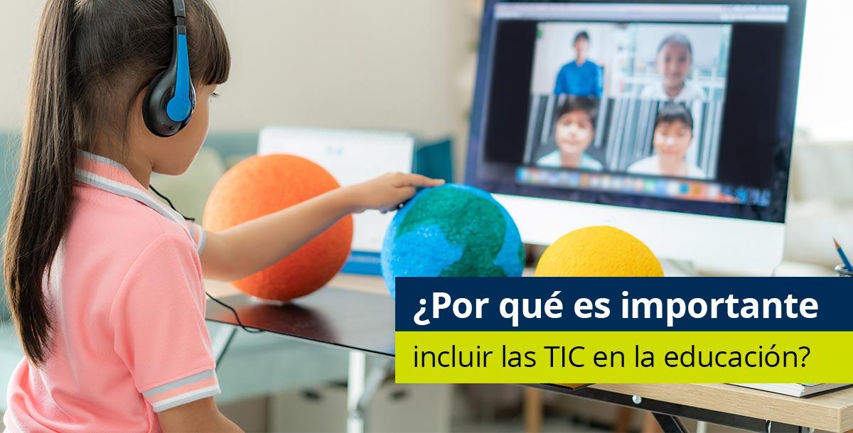 Incluir las TIC en la educación